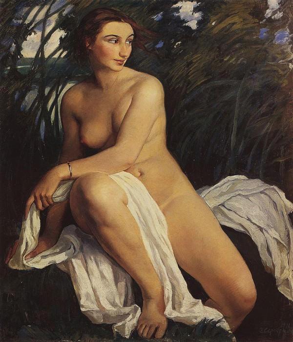 Купальщица. Зинаида Евгеньевна Серебрякова