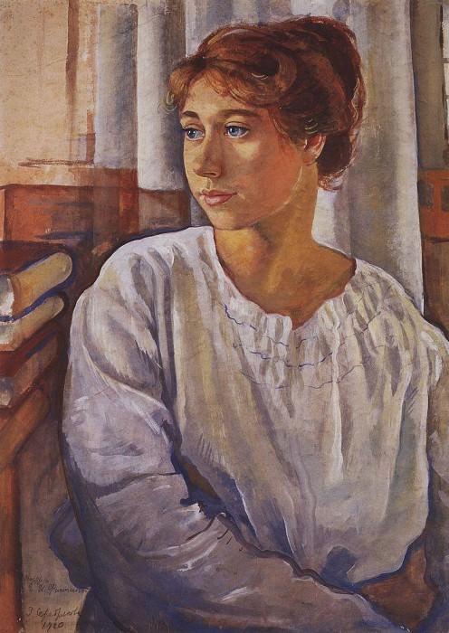 Portrait of E. I. Finogenova. Zinaida Serebryakova