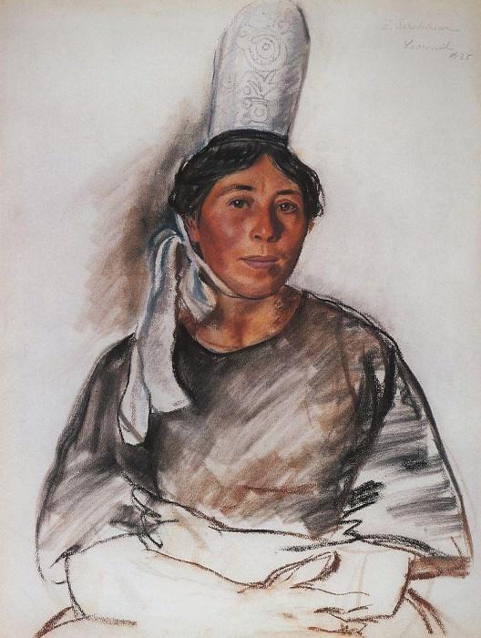 Молодая бретонка. Зинаида Евгеньевна Серебрякова