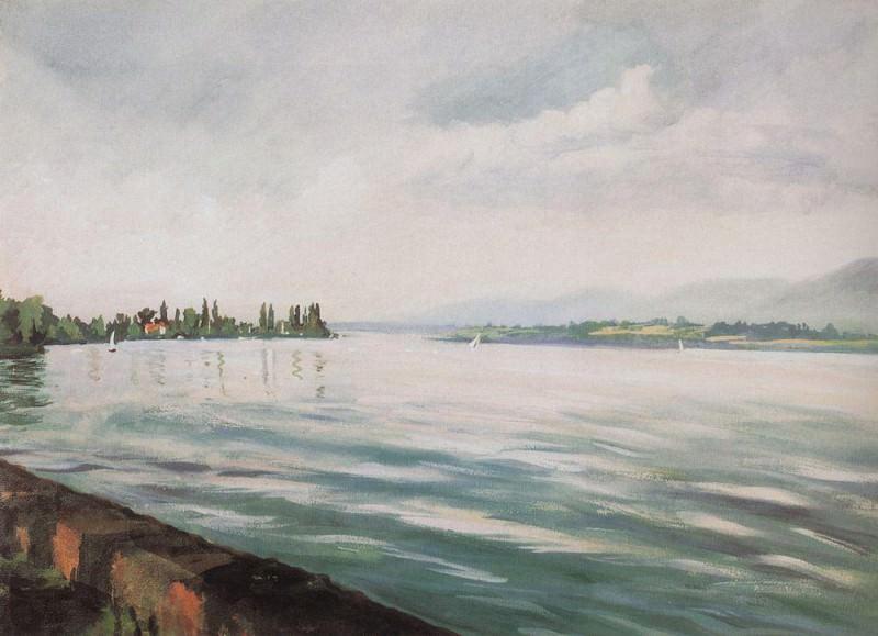 Geneva Lake. Zinaida Serebryakova