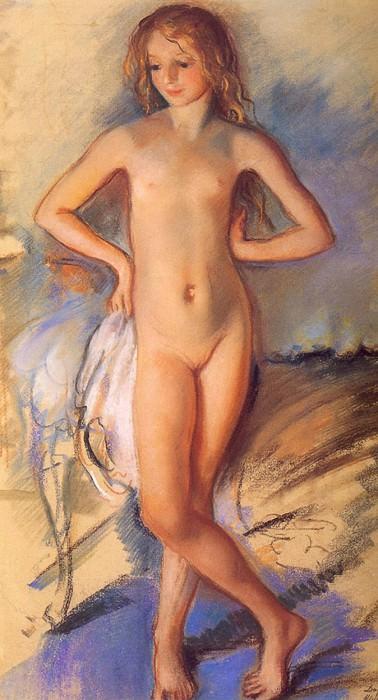Nude girl. Zinaida Serebryakova