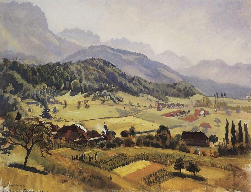 Alps Annecy. Zinaida Serebryakova