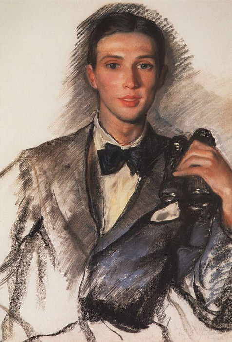 Portrait of the painter D. D. Bushen. Zinaida Serebryakova