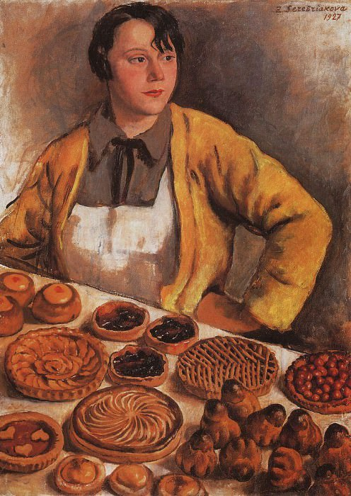 Baker from the Lepic street. Zinaida Serebryakova