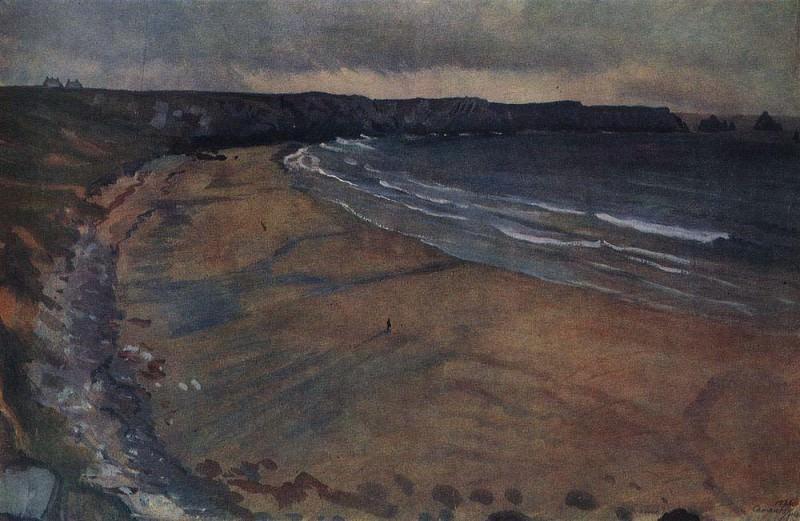 Бретань Пляж в Камаре. Зинаида Евгеньевна Серебрякова