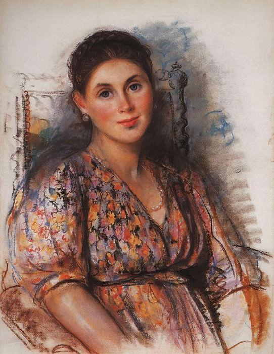 Countess Saint Hippolytus, nee princess Trubetskaya. Zinaida Serebryakova