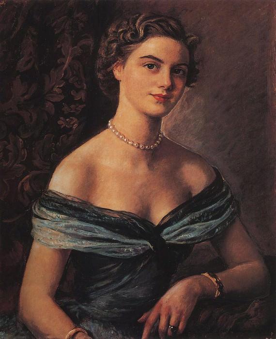 Helene de Rua, Princess Jean de Merode. Zinaida Serebryakova