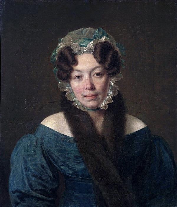 Portrait of Maria Filosofova. Alexey Venetsianov