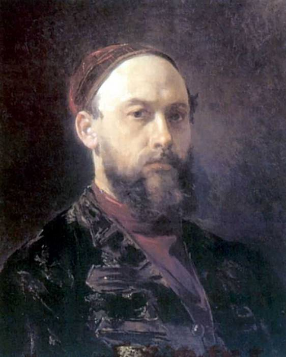 Автопортрет. Firs Sergeevich Zhuravlev