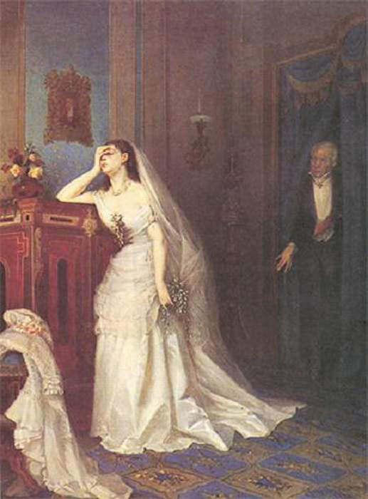После свадебной церемонии. Фирс Сергеевич Журавлев