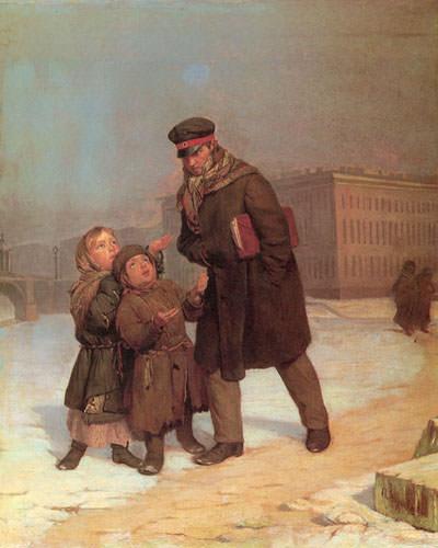 Дети нищие. Firs Sergeevich Zhuravlev