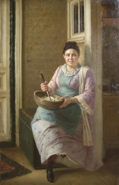 Кухарка. Firs Sergeevich Zhuravlev