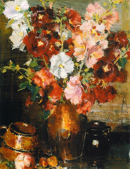 Мальвы (1934—1955). Nikolay Feshin