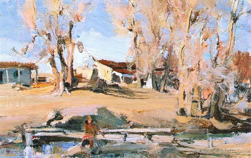 Таосский пейзаж (1927—1933). Nikolay Feshin