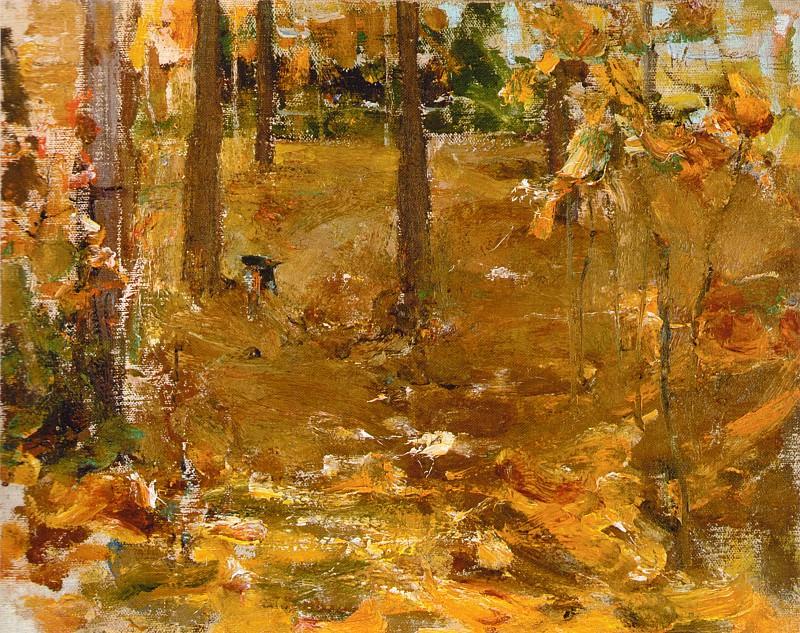 Осенний пейзаж (1910-е). Николай Иванович Фешин