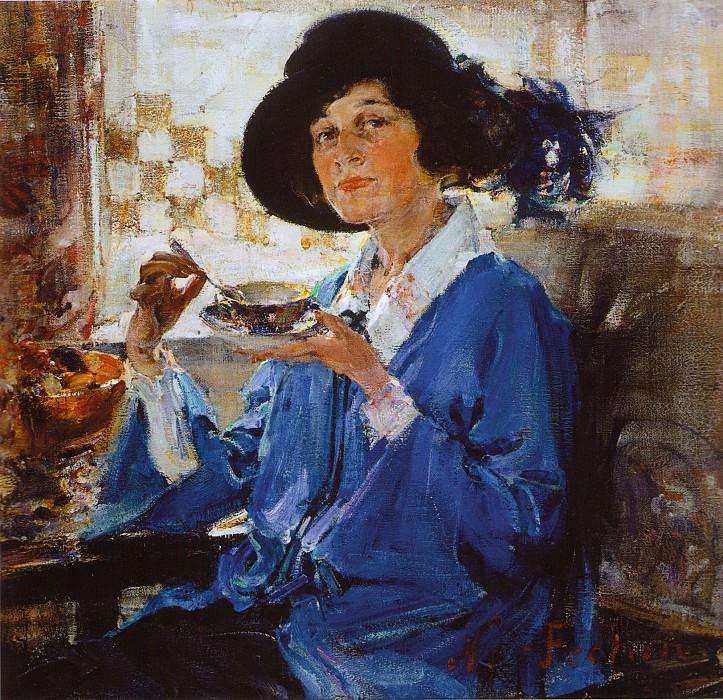 Миссис Крэг (1923). Николай Иванович Фешин