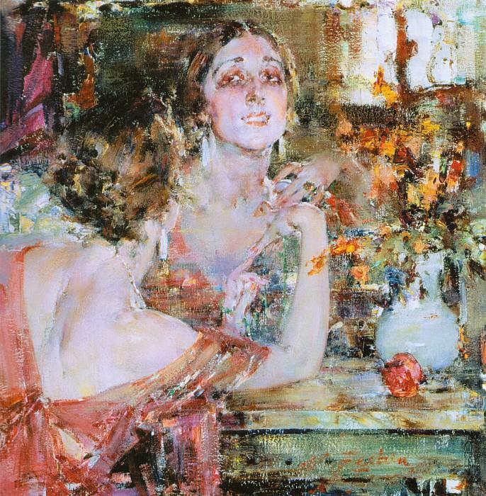 Портрет Веры Фокиной (1923—1926). Николай Иванович Фешин