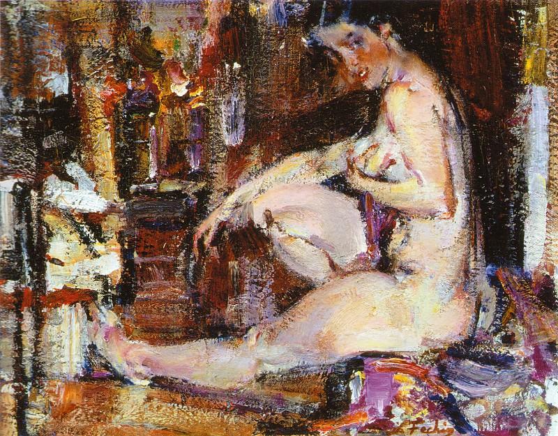 Ню (1925-1926). Nikolay Feshin