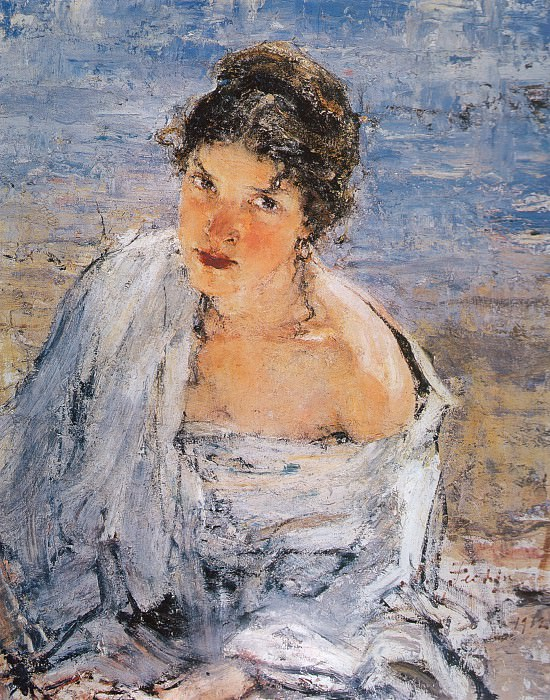 Александра на Волге (1912). Nikolay Feshin