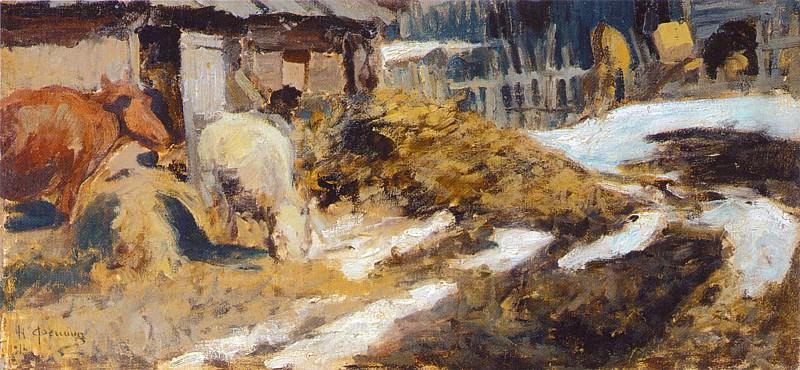 Пейзаж (1910-е). Николай Иванович Фешин