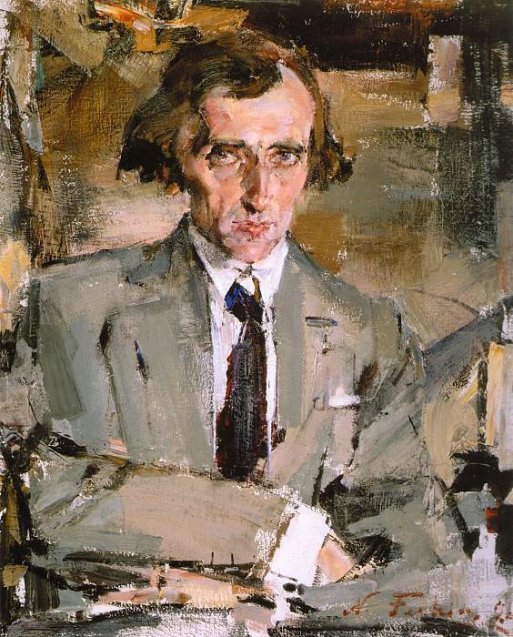 Портрет писателя (Н.Н.Евреинов) (1926). Nikolay Feshin