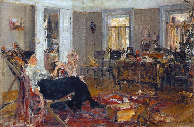 Елка (1917). Николай Иванович Фешин
