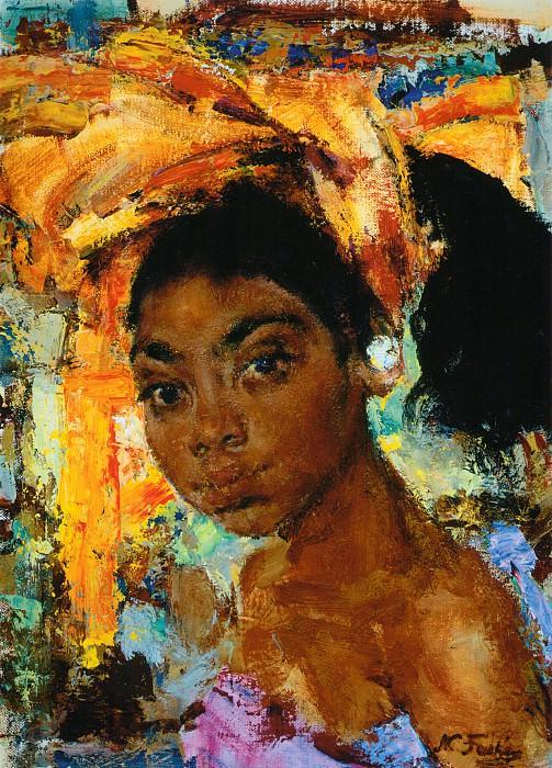 Девушка с острова Бали (После 1938). Николай Иванович Фешин