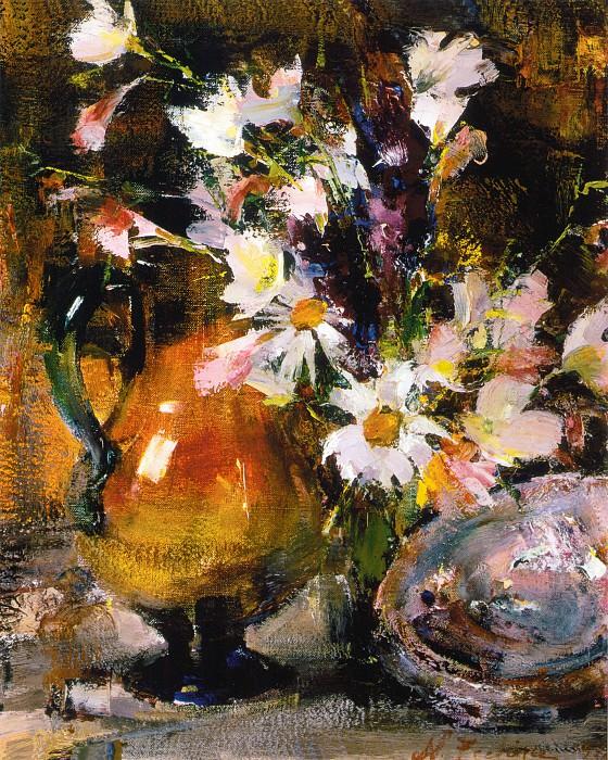 Натюрморт с цветами (1934—1955). Николай Иванович Фешин