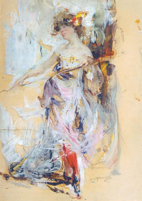 Натурщица (Вторая пол. 1910-х). Николай Иванович Фешин