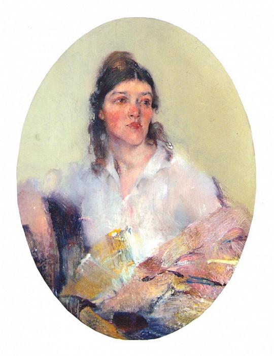 Портрет жены (1918—1922). Николай Иванович Фешин