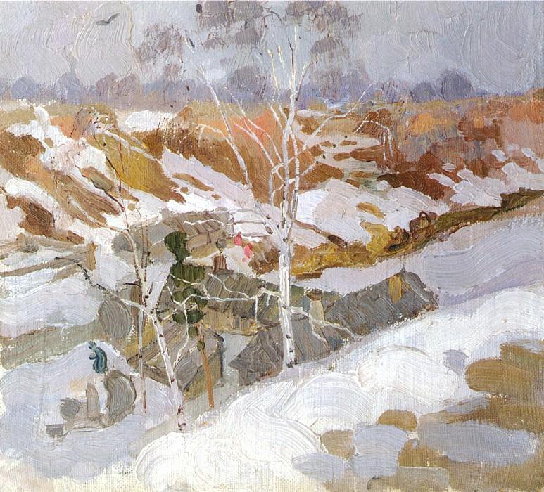 Пейзаж (1910). Николай Иванович Фешин