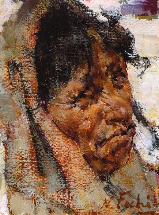 Мексиканская бабушка (1927—1933). Николай Иванович Фешин