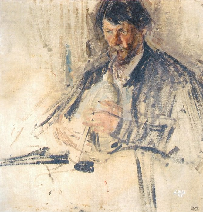 Пузырист (1908). Николай Иванович Фешин