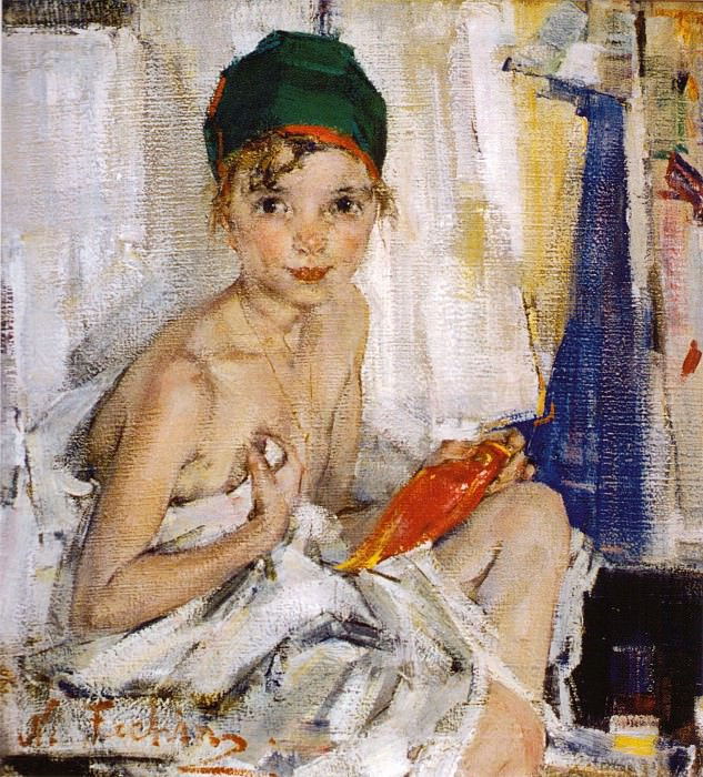 Портрет Ии (1923—1926). Nikolay Feshin