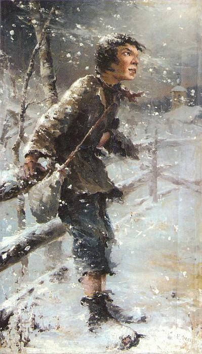Беспризорник (1890-е). Николай Иванович Фешин