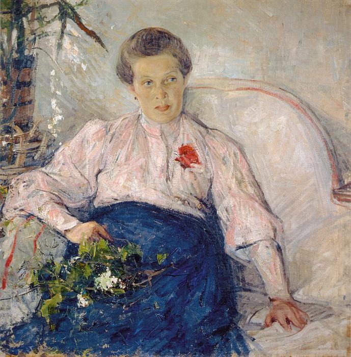 Портрет М.Т.Тепловой (1906). Nikolay Feshin