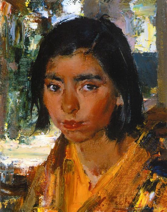 Сеньорита Ройбэл (1927-1933). Николай Иванович Фешин