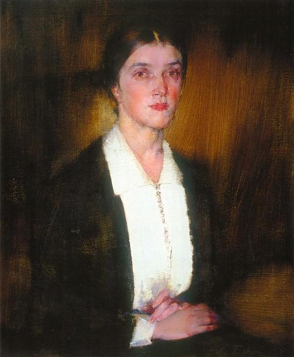 Портрет Александры (1927—1933). Nikolay Feshin