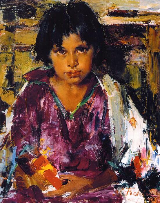 Дитя Таоса (1927—1933). Nikolay Feshin