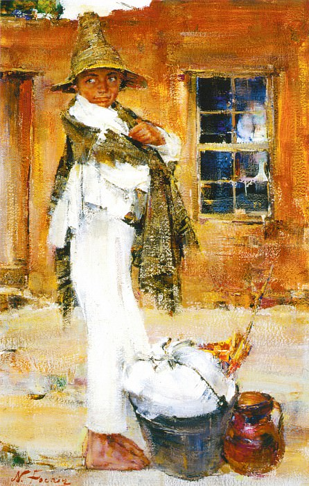 Незнакомец. После (1936). Nikolay Feshin