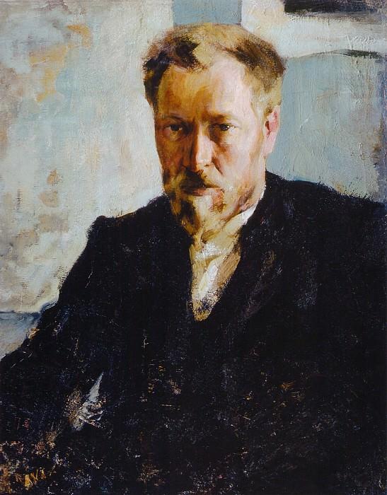 Портрет художника Н.К.Евлампиева (1905). Николай Иванович Фешин