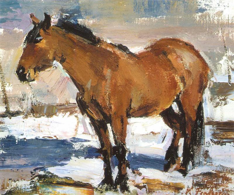 Рабочая лошадка (1927—1933). Nikolay Feshin