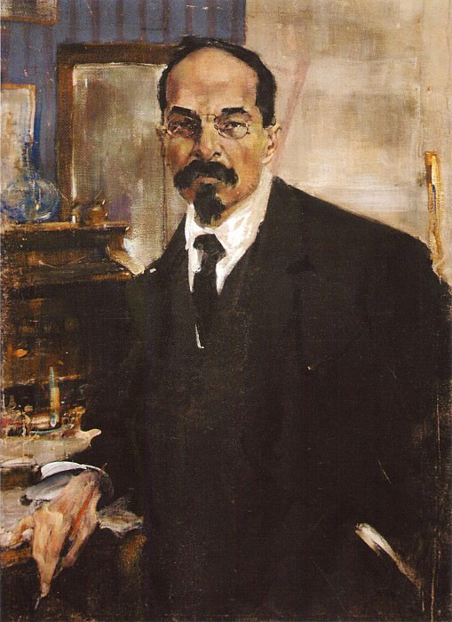 Портрет Анатолия Васильевича Луначарского (1920). Nikolay Feshin