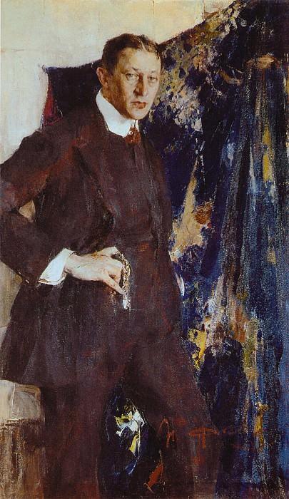 Портрет художника В.Г.Тихова (1916). Николай Иванович Фешин