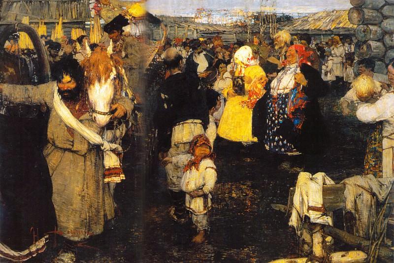 Черемисская свадьба (1908). Николай Иванович Фешин