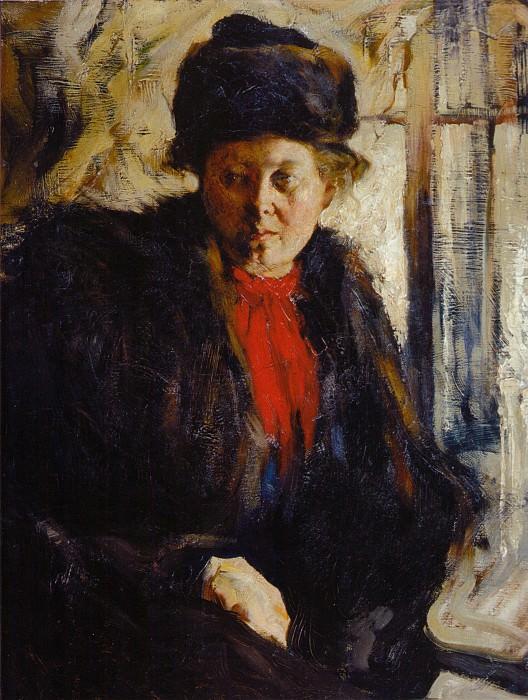 Женский портрет (1907). Nikolay Feshin