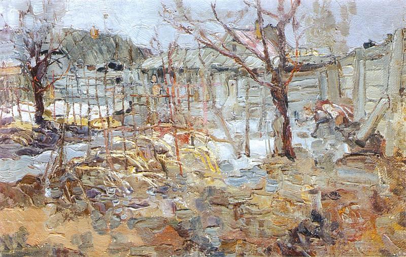 Ранняя весна (1916). Николай Иванович Фешин