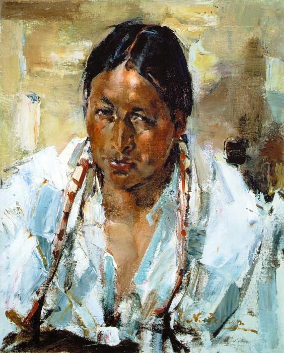 Индеец изТаоса (1927—1933). Николай Иванович Фешин