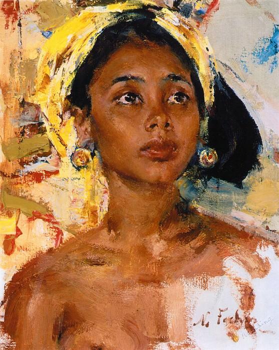Girl from Bali (After 1938). Nikolay Feshin