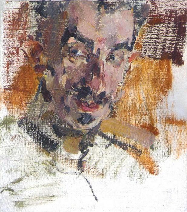 Мужской портрет (А.С.Алексеев) (1910-е). Николай Иванович Фешин